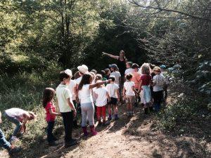 bambini gita natura